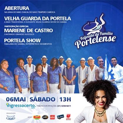Feijoada da Família Portelense - Edição de Maio