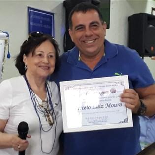 Secretário-geral da Portela é homenageado pelo Rotary Club