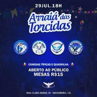 Portela promove 'Arraiá das Torcidas' no dia 29 de julho