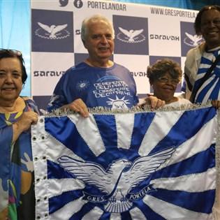 Portela lança companha de financiamento coletivo para viabilizar transmissão da final de samba