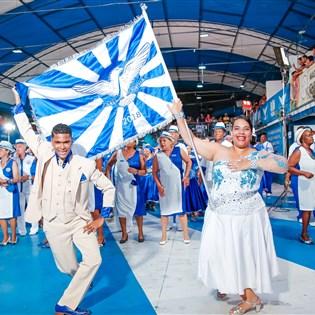 Portela tem novo terceiro casal de mestre-sala e porta-bandeira