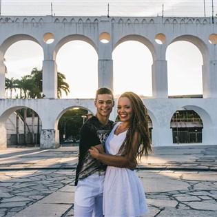 Portela tem novo casal de mestre-sala e porta-bandeira