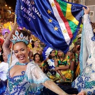 Lucinha Nobre, Marlon Lamar e Nilo Sérgio brilham em desfile em Cabo Verde