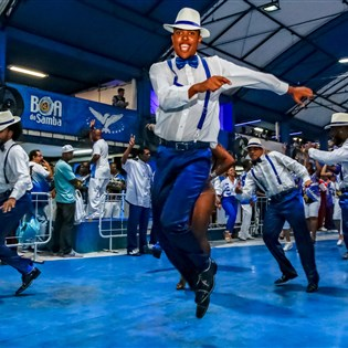 Portela receberá Vila Isabel e Paraíso do Tuiuti nesta sexta-feira
