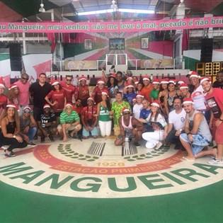 Portela participa de ação solidária de Natal